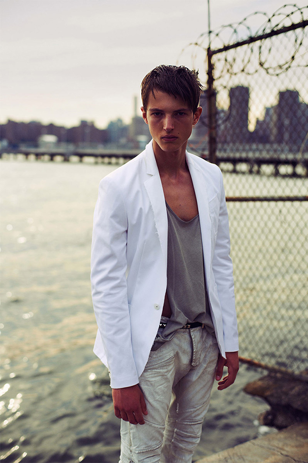 pierre balmain 2014 spring summer lookbook