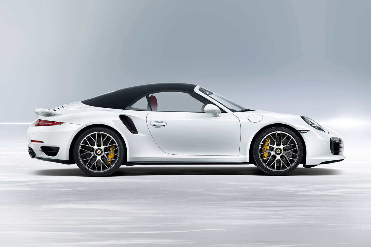 Porsche 2014 911 Turbo Cabriolet & 911 Turbo S Cabriolet