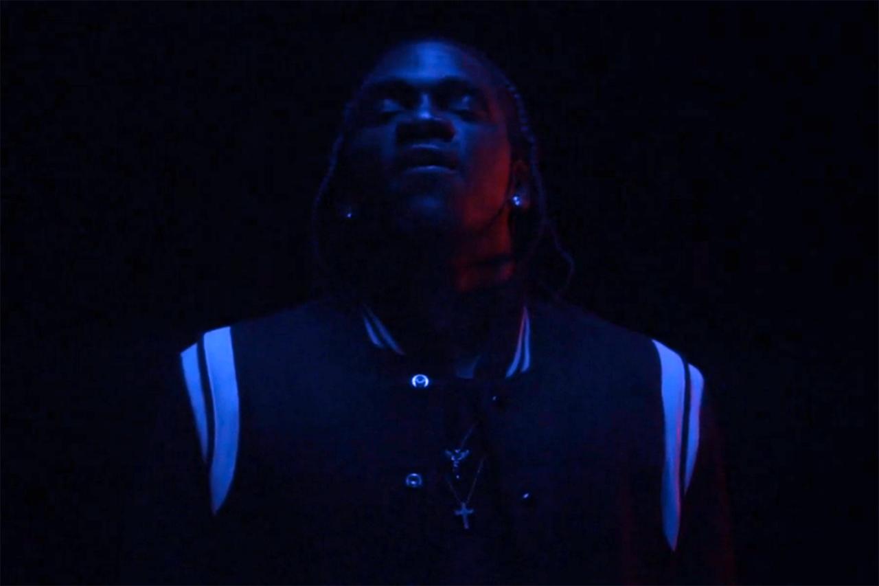Pusha T - King Push (Produced by Joaquin Phoenix & Kanye West) | Video