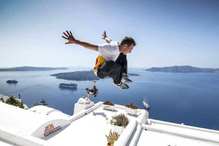 Red Bull Art of Motion: Freerunning through Greece