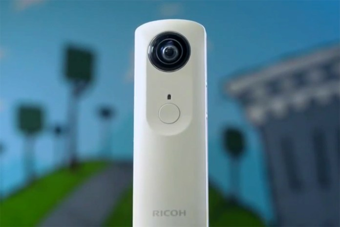 Ricoh Theta Brings Spherical Photographs to the Masses