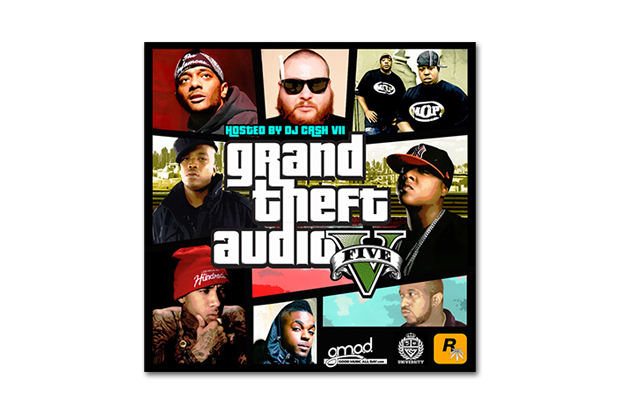 Rockstar Games Presents 'Grand Theft Audio V' Mixtape