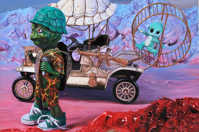 ron english popagandistan exhibition corey helford gallery