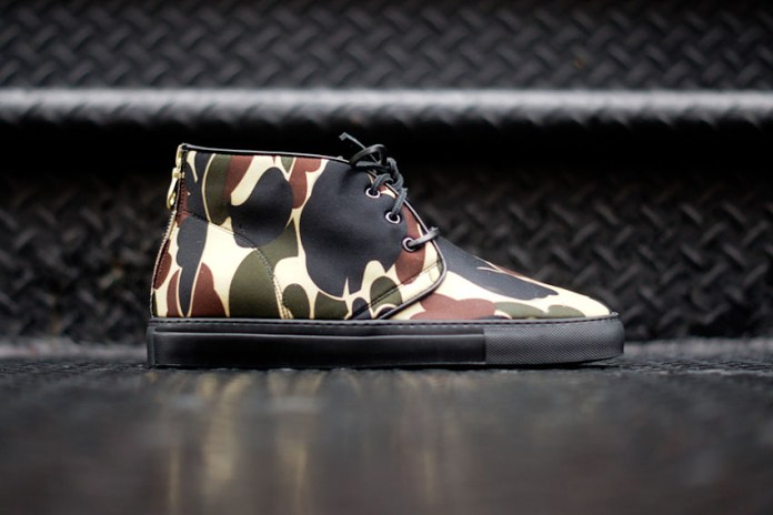 Ronnie Fieg for Del Toro 2013 Fall Cloud Camo Neoprene Chukka