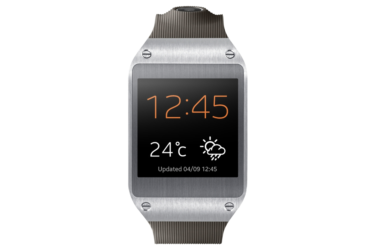 Samsung Unveils the Galaxy Gear Smartwatch