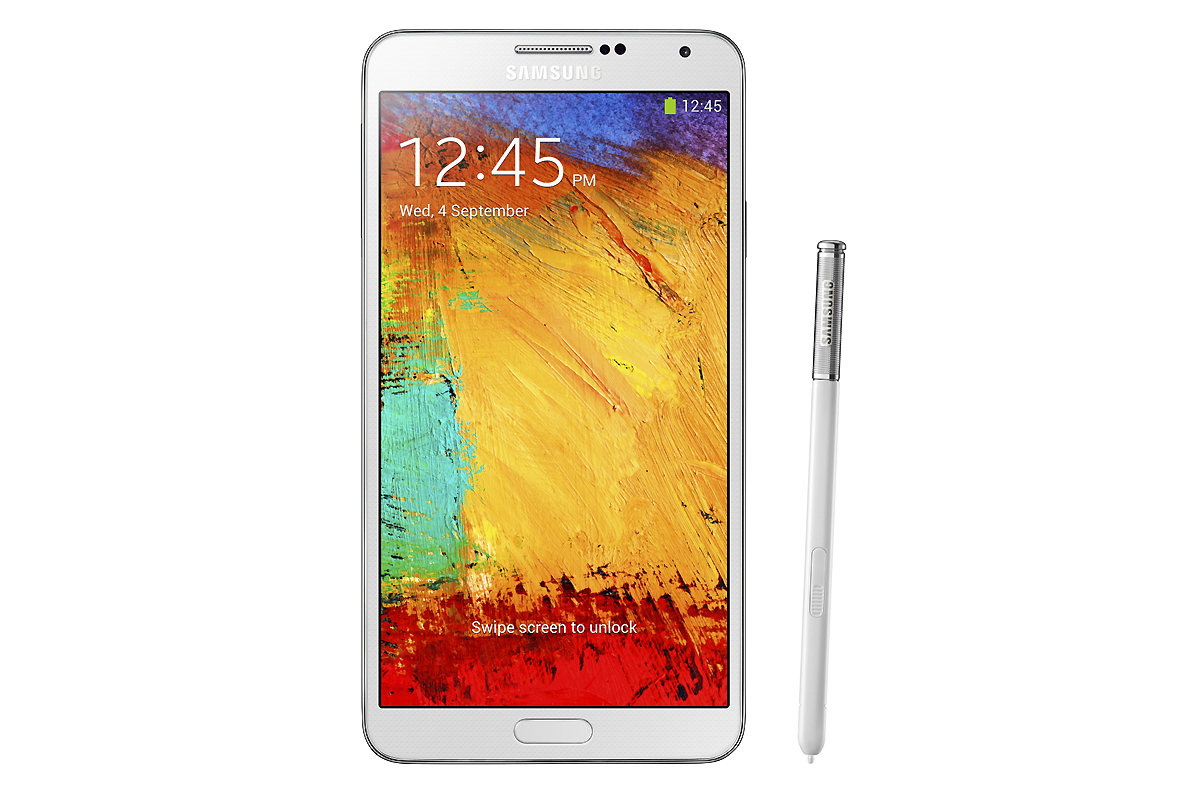 Samsung Unveils the New Galaxy Note 3