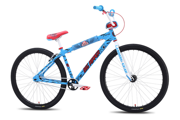 santa cruz skateboards x se bikes big ripper bicycle