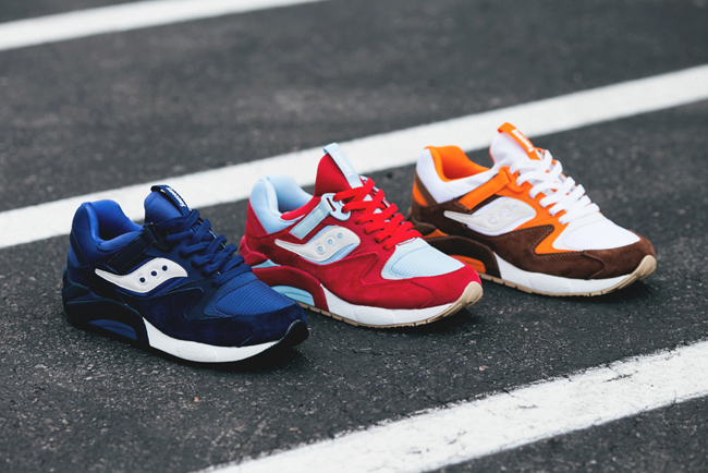 "Saucony Grid 9000 ""Three Rivers"" Pack"