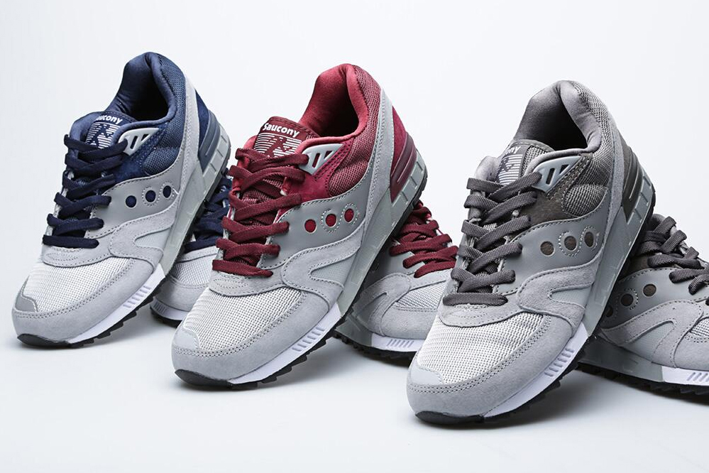 saucony fall 2013 shadow master grey pack