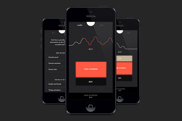 SHADOW Alarm Clock and Dream Recording App