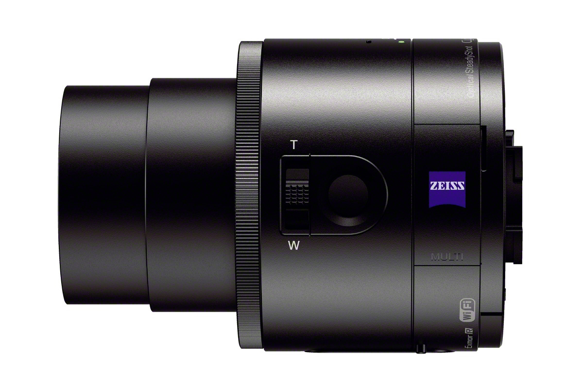 """Sony Cyber-Shot DSC-QX100 and DSC-QX10 """"Lens-Style"""" Cameras"""