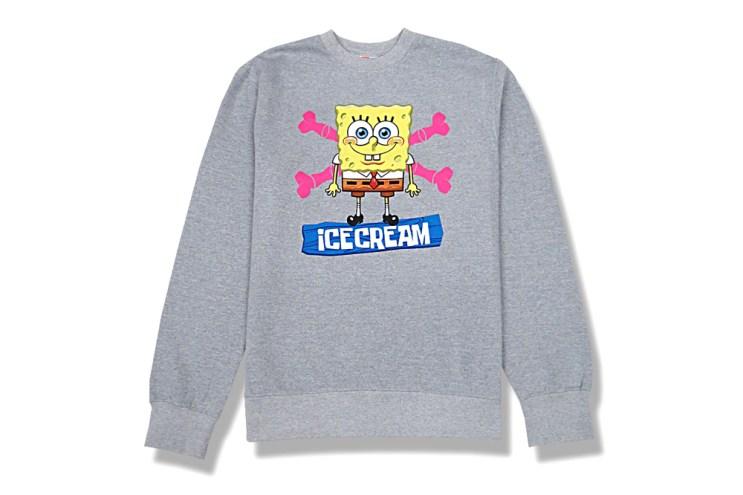 SpongeBob SquarePants x ICECREAM 2013 Capsule Collection