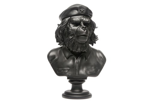 "SSUR x 3DRetro 12"" Rebel Ape Bust Sculpture"