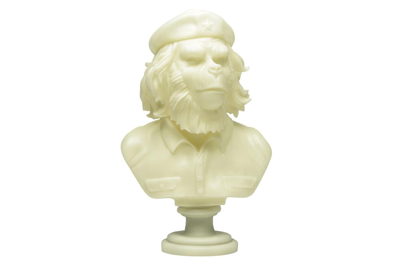 "SSUR x 3DRetro 12"" Rebel Ape Bust Sculpture"