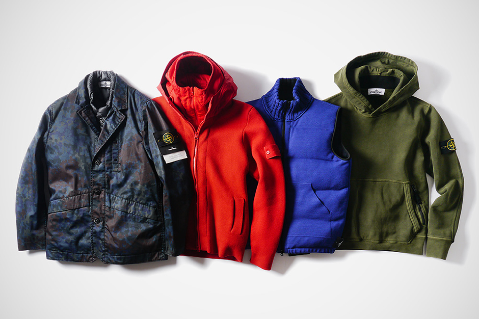 Stone Island 2013 Fall/Winter Outerwear Collection