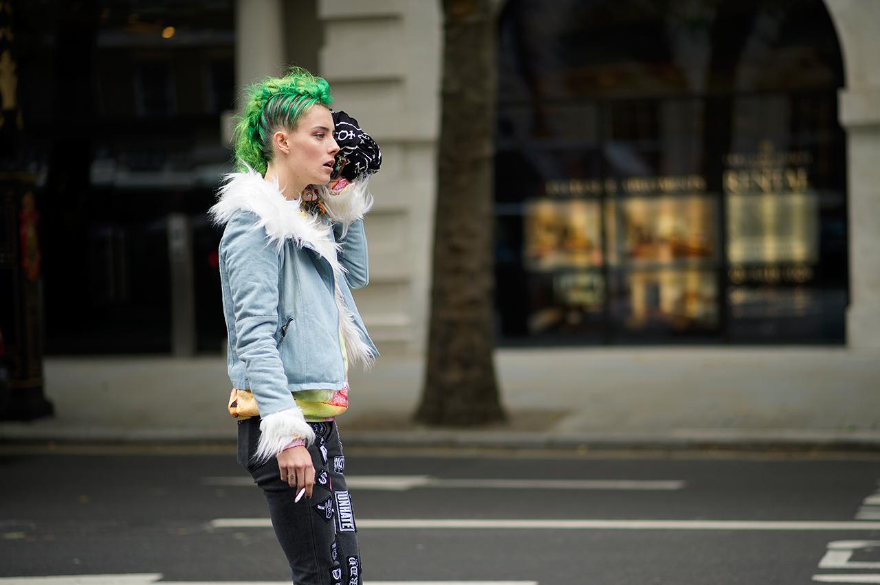 September 2013: Streetsnaps: London Fashion Week September 2013