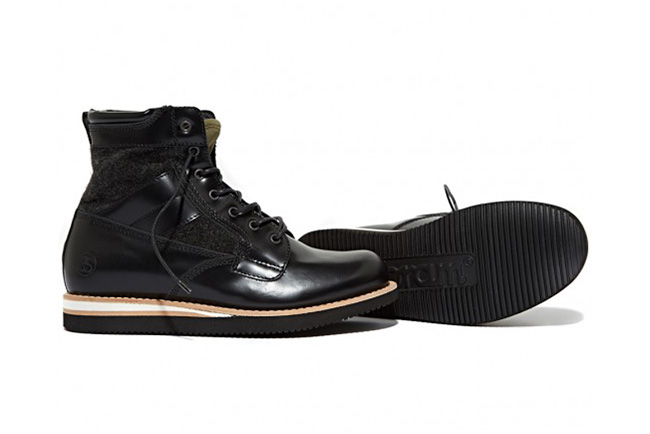 stussy deluxe x bepositive 2013 fall winter new boot