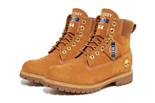 "Stussy x Timberland 2013 Fall/Winter 6"" Boot Preview"