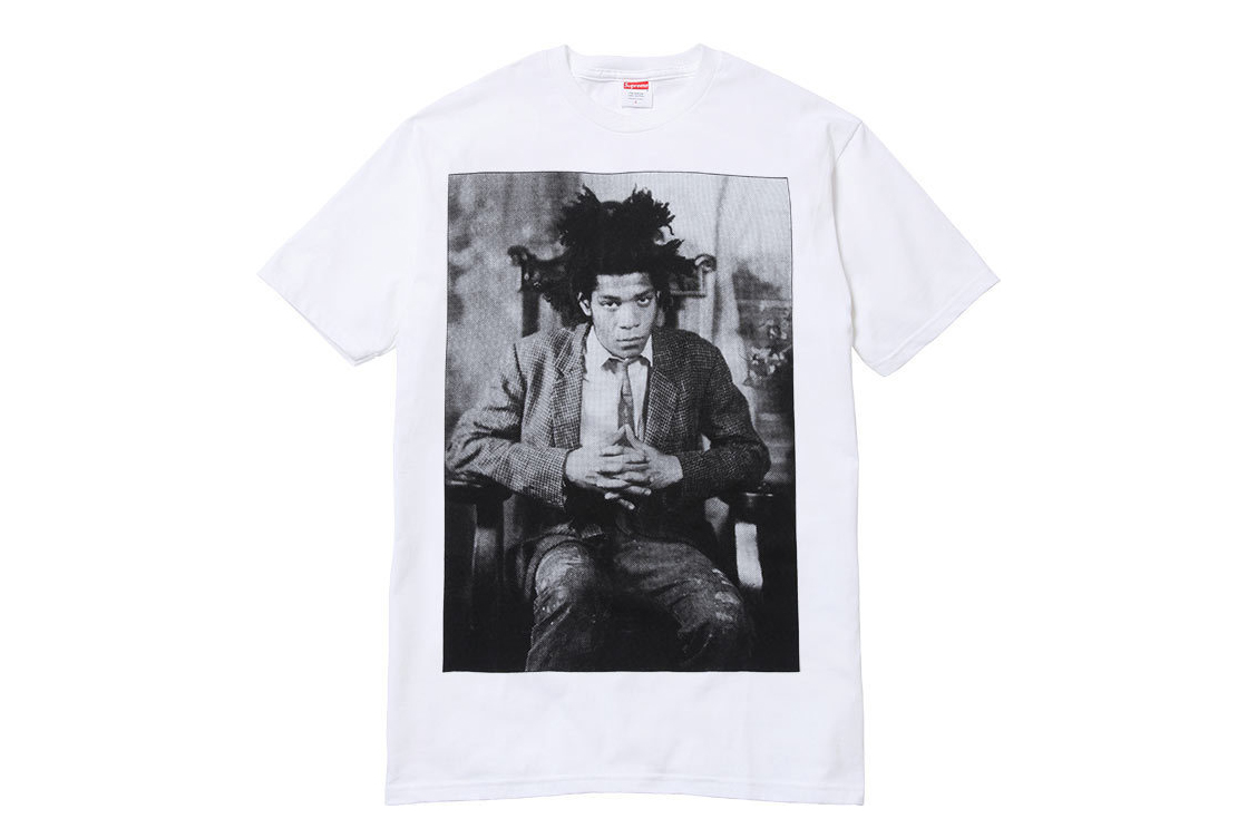 supreme 2013 fall winter jean michel basquiat collection