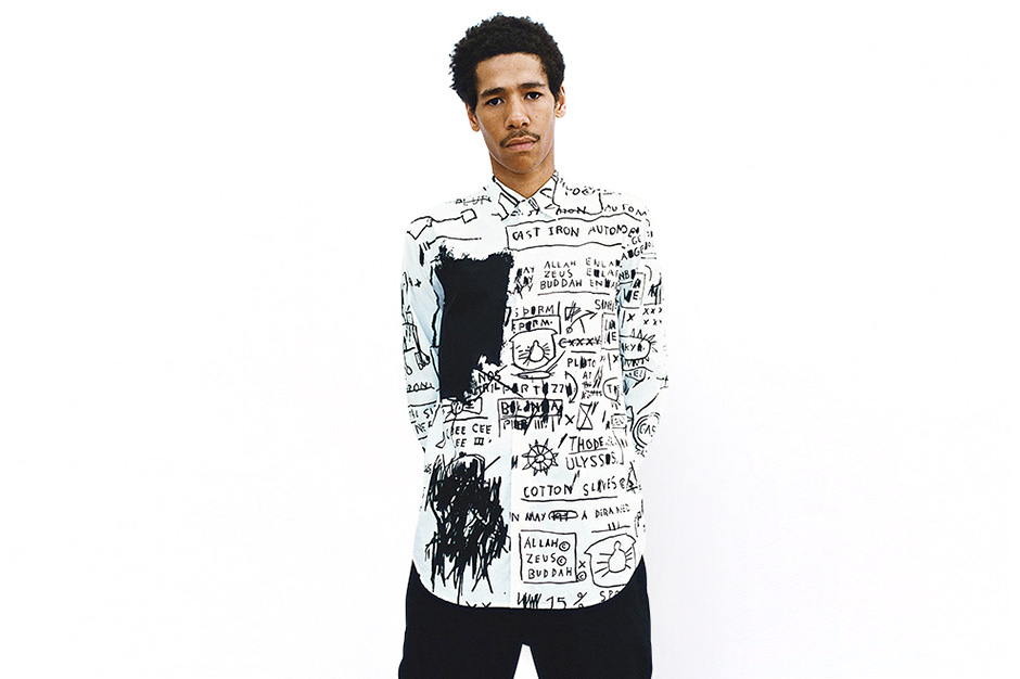 supreme 2013 fall winter jean michel basquiat lookbook