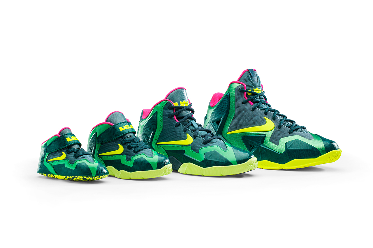 the lebron xi aims to outfit kids with t rex inspired range