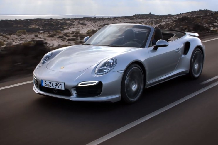 The Porsche 911 Turbo Cabriolet in Motion