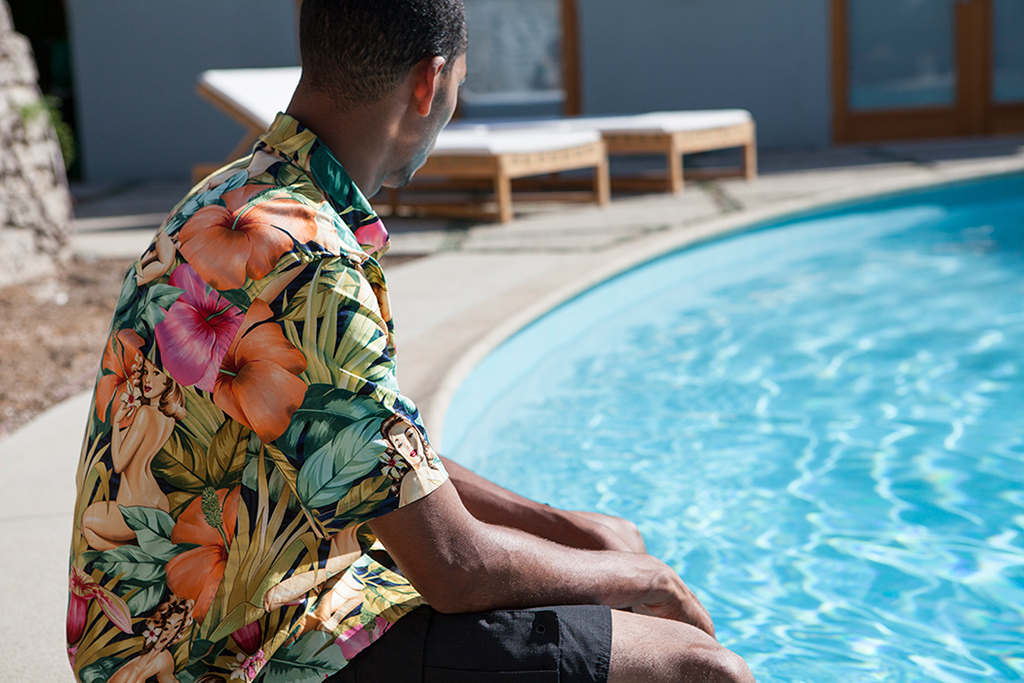 "The Quiet Life 2013 Fall/Winter ""LAST SPLASH"" Mahalo Shirt"