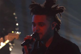 "The Weeknd Performs ""Pretty"" Live on Kimmel"