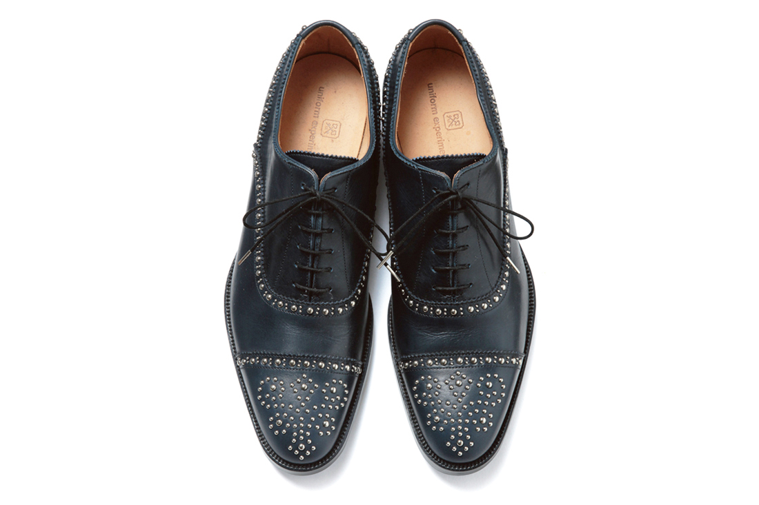 uniform experiment 2013 Fall/Winter STRAIGHT TIP STUDS SHOES