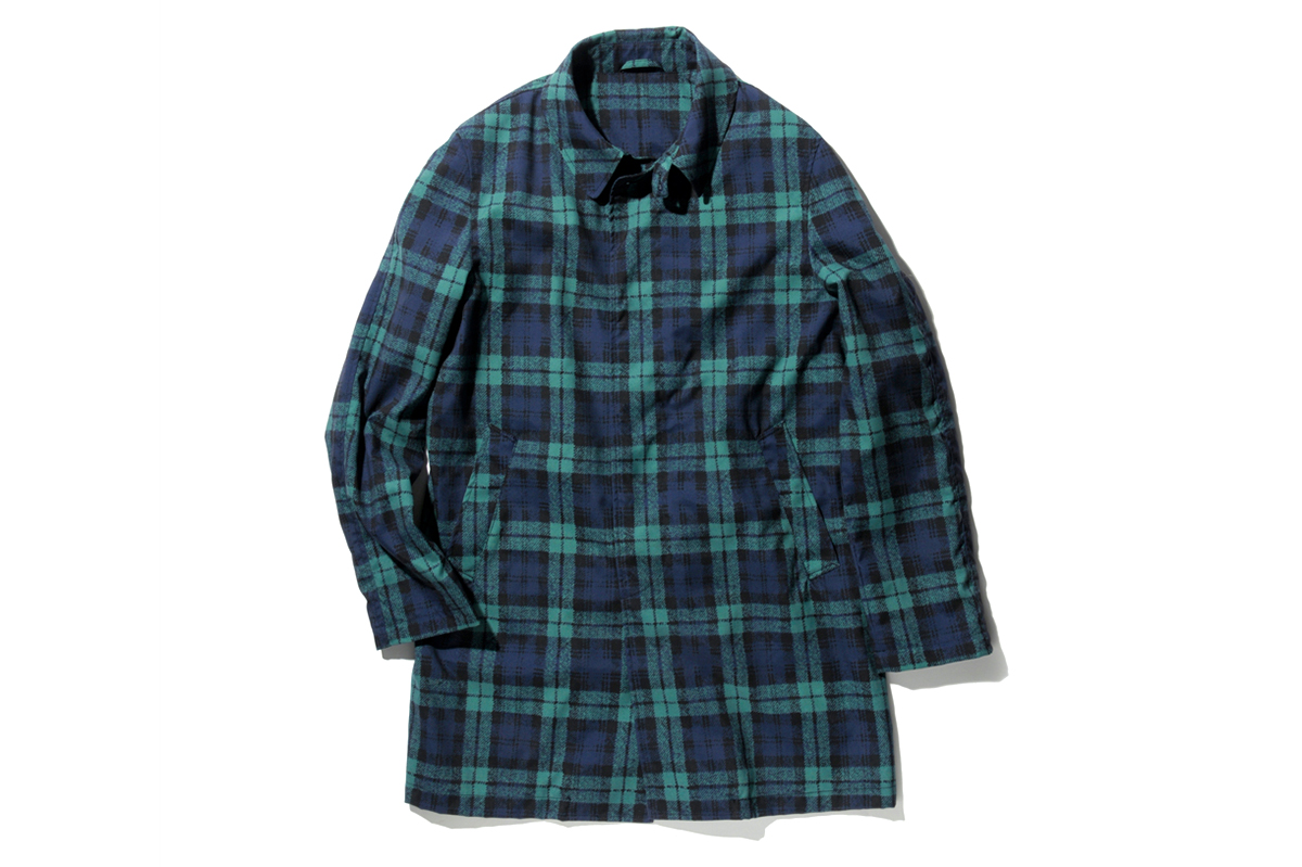 uniform experiment SOUTIEN COLLAR COAT ISETAN SHINJUKU Men's Exclusive