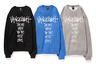 VANQUISH x Stussy 2013 Fall/Winter Message Crew