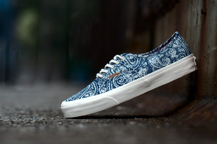 "Vans California 2013 Fall Authentic ""Paisley"" Pack"
