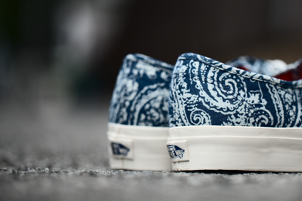 vans california 2013 fall authentic paisley pack