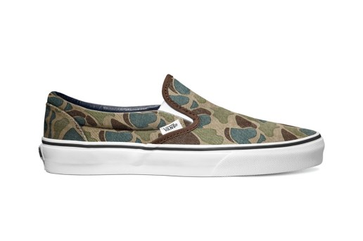 Vans 2013 Holiday Van Doren Series Camo Pack