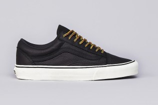 Vans California Old Skool Reissue Black Leather