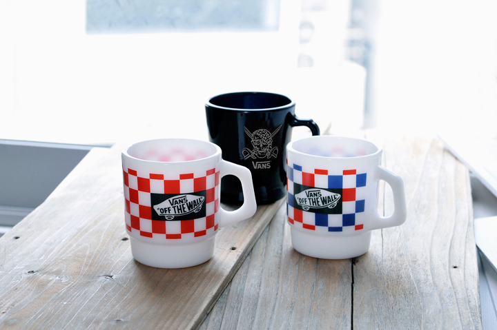 Vans x Fire-King 2013 Mugs