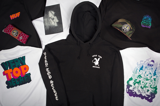 Very Top Secret x HUF 2013 Fall Collection