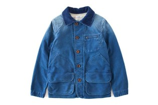 visvim 2013 Fall/Winter MINIE HUNTING JKT (DMGD MOLESKIN)