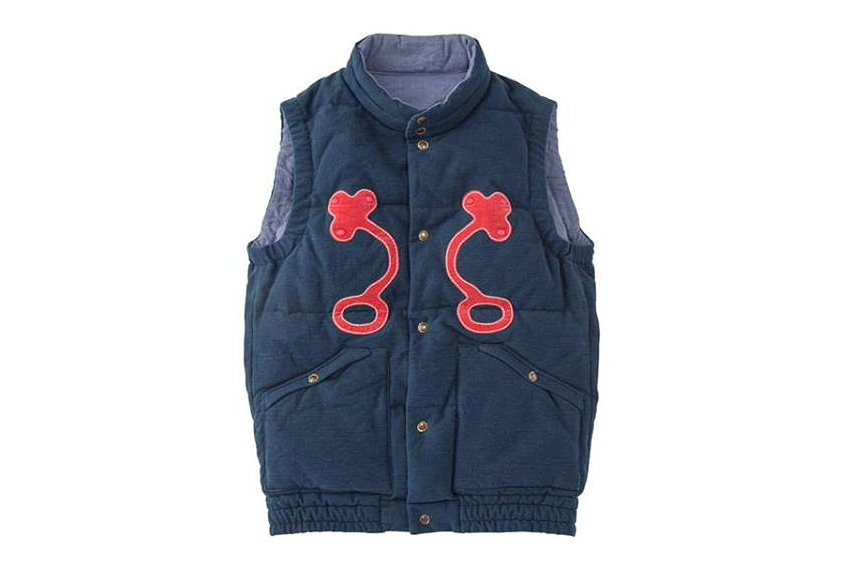 visvim 2013 fall winter insulator down vest shamrock