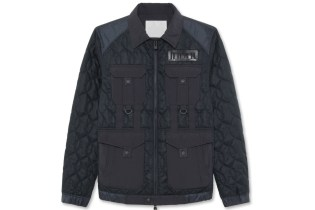 White Mountaineering Cotton Quilted Jacket