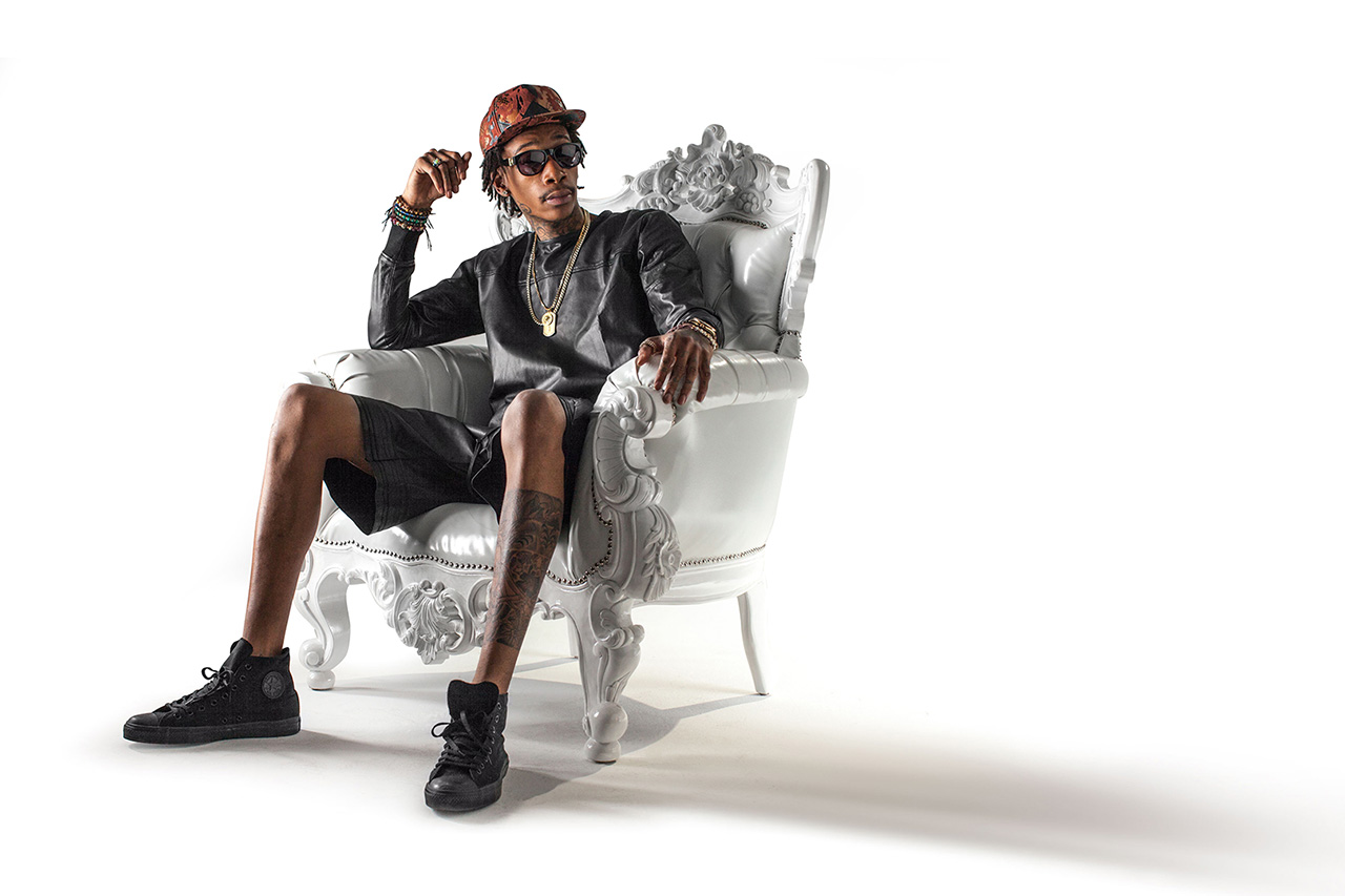 Wiz Khalifa x Flat Fitty 2013 Collaboration