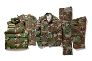 WTAPS 2013 Fall/Winter Woodland Camouflage Collection