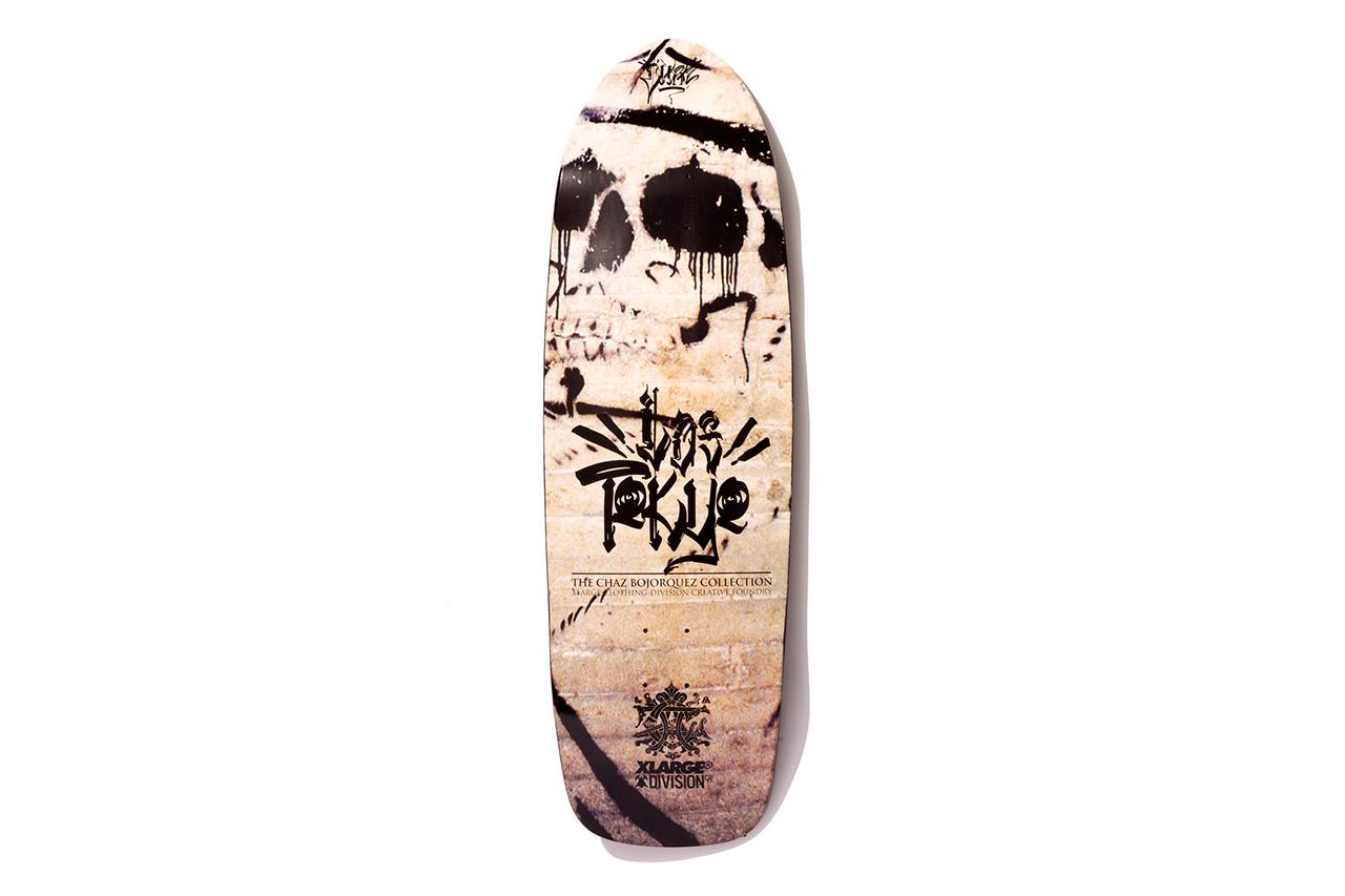 "XLARGE x Chaz Bojorquez x Division Creative Foundry 2013 Fall ""Los Tokyo"" Skate Deck"