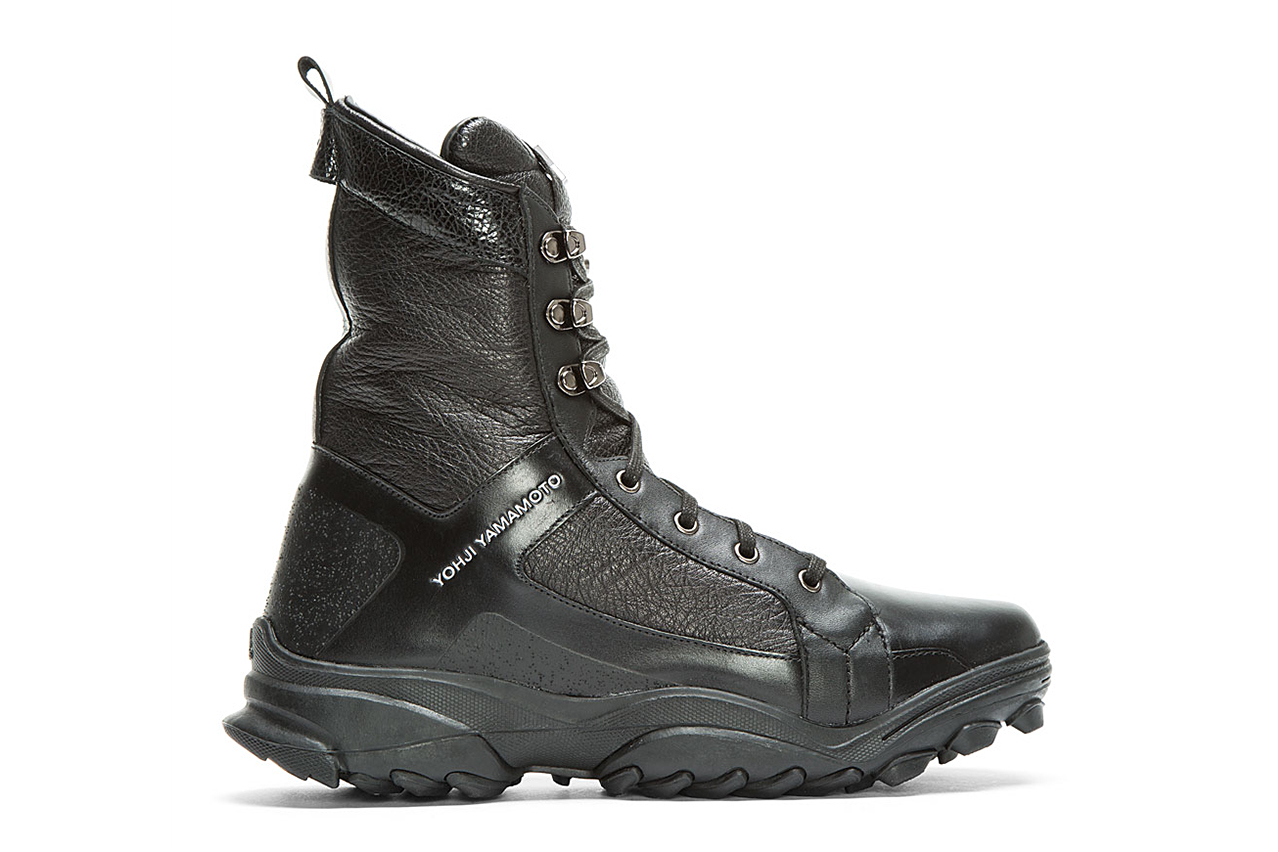 Y-3 Black Leather GSG3 Boot