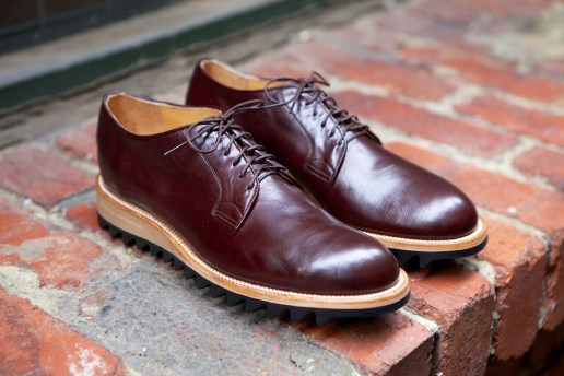 Yuketen 2013 Fall/Winter Ripple Soled Plain Toe