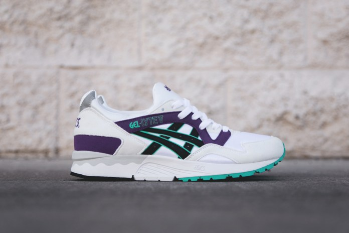 ASICS Gel Lyte V White/Purple/Teal