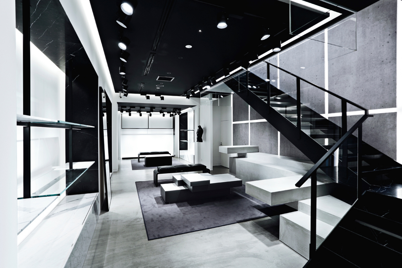 alexander wang opens flagship in aoyama