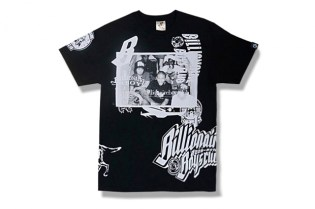 "Billionaire Boys Club 10th Anniversary ""Collage"" T-Shirt"