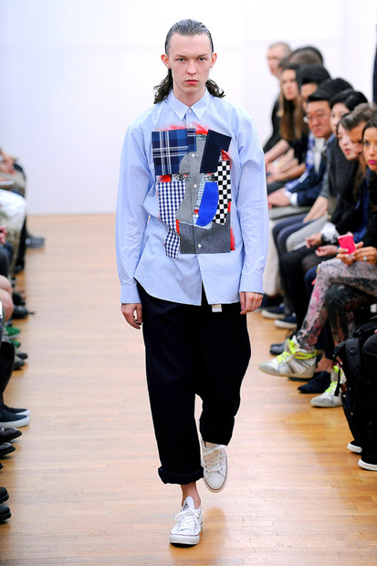 COMME des GARCONS SHIRT 2014 Spring/Summer Collection