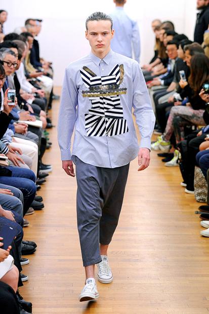 comme des garcons shirt 2014 springsummer collection